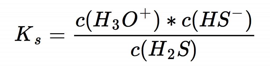 pH-Werte schwacher Säuren