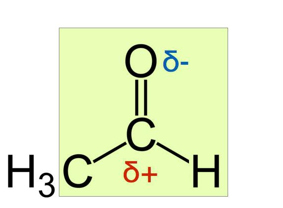 acetaldehyd strukturformel